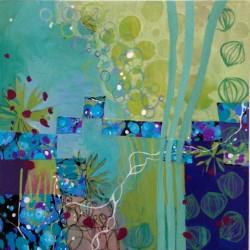 Ingrid Ellison mixed media painting