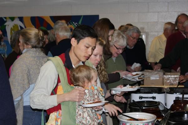 Mount Desert Island Historical Society's 2013 annual bean supper.