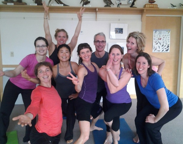 Come and enjoy a 1/2 day yoga workshop with snowshoeing too!