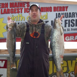 Long Lake anglers brave cold for derby