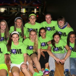 Members of the Central Maine United U-16 Girls Premiere soccer team formed several bowling teams at last year's Bowl For Kids' Sake event in Waterville, and raised $850 to support Big Brothers Big Sisters of Mid-Maine.