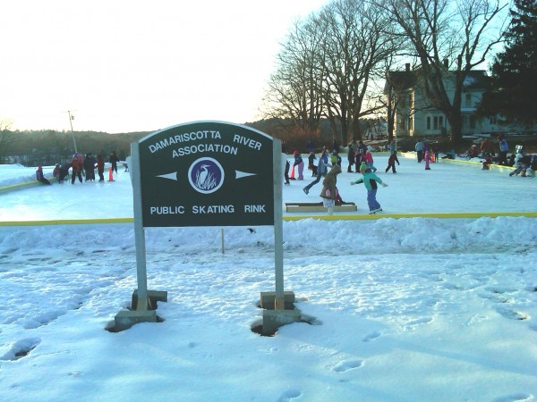 The Damariscotta River Association invites the public to its first ever Winter Party, which will include Nordic skiing, ice skating and sledding, among other activities. (Photo by Christopher Covel)