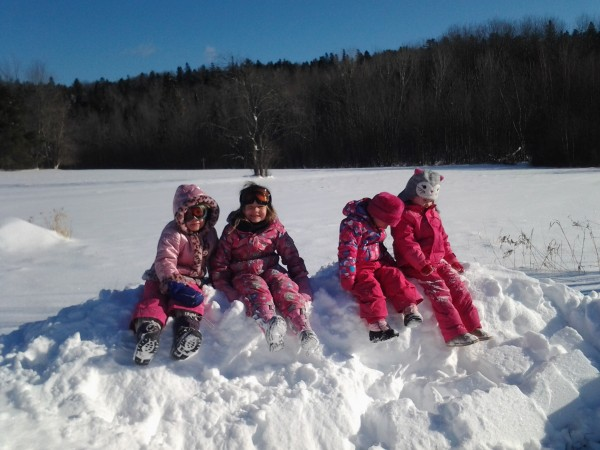 Come play in the snow with us! And, if we have no snow, it's still a go...