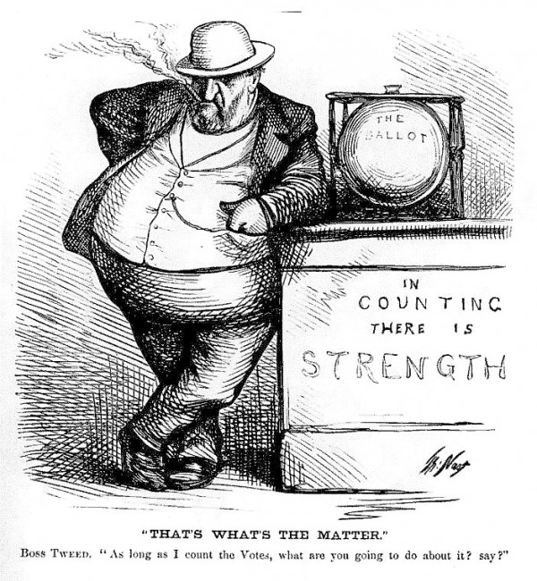 An ad from October 1969 featuring the original caricature of The Governor. The cigar-smoking fat cat was inspired by the political cartoons of Thomas Nast, who lampooned the infamous Boss Tweed during the Tammany Hall scandal in the late 1800s in New York City. Founder Leith Wadleigh saw a cartoon similar to the one here and had a local painter make his Governor.