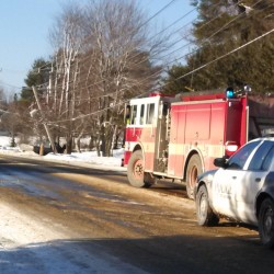 Mount Hope Avenue closed after plow truck hits pole