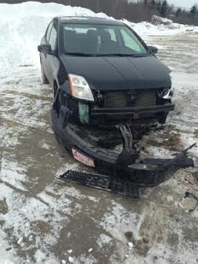 Robert Henderson, 45, of Littleton reportedly didn't put his vehicle in park at the Littleton Pit Stop on Jan. 22, 2014, and it traveled about 70 yards, striking Kaitlyn Wellington's parked vehicle, causing about $5,000 in damage. He was charged with leaving the scene of an accident.
