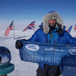 Swedish Explorer Johan Ernst Nilson begins North-South Pole expedition
