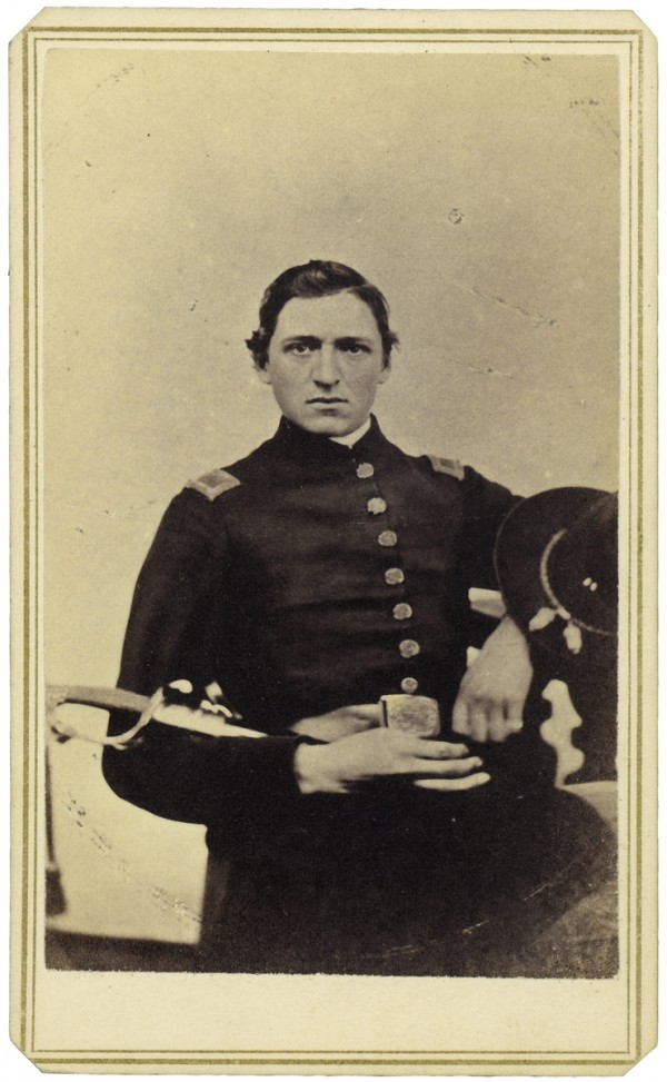 Lt. James J. Chase of Turner was assigned to Co. D, 32nd Maine Infantry Regiment after that unit's creation in late winter 1864. Chase charged with his men across a bullet-swept landscape after a Union mine exploded at Petersburg, Va. at 4:44 a.m., Saturday, July 30, 1864. A Confederate bullet struck Chase in his left eye and left him crippled for life.