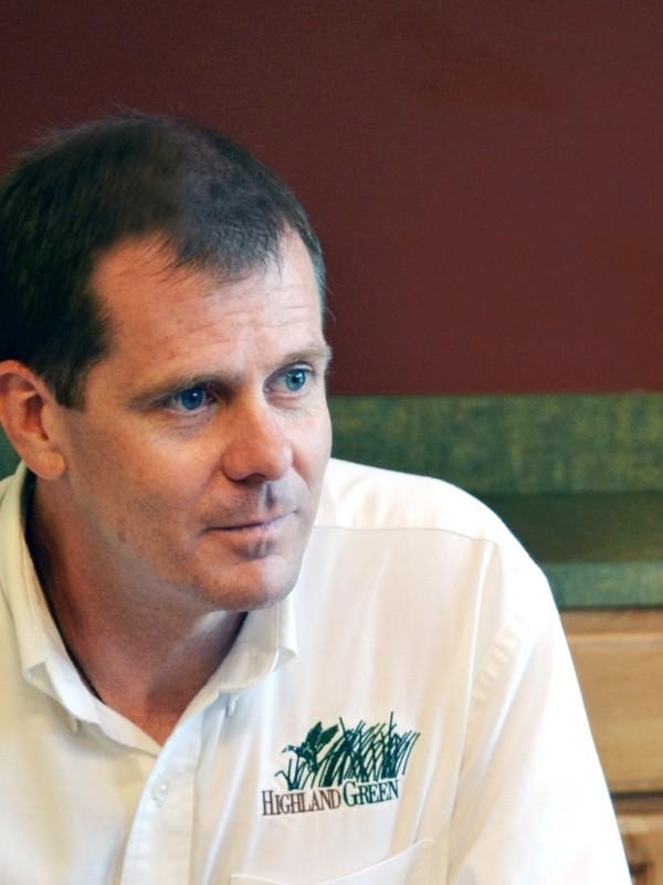 Highland Green Director of Marketing & Sales Will Honan