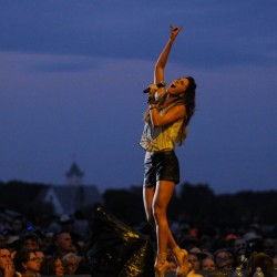 Waterfront Concerts open gates; Miranda Lambert show still on for 7 p.m.