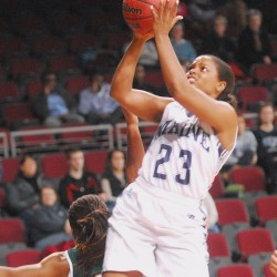 League-leading Boston U. rolls past UMaine women's basketball team