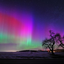 Northern lights may be visible in Maine