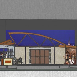 Husson's new theater design elevates 'West Side' rendition