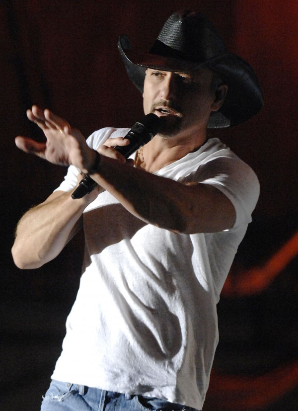 Tim McGraw performs at the Waterfront Concert Series in Bangor on Saturday, Sept. 4, 2010.