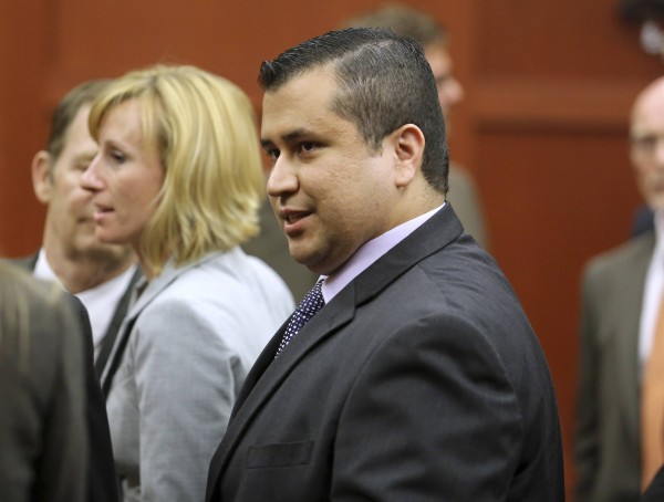 George Zimmerman leaves the courtroom a free man after being found not guilty in the 2012 shooting death of Trayvon Martin at the Seminole County Criminal Justice Center in Florida in this July 2013 file photo. The celebrity boxing match between rapper DMX and Zimmerman was called off, according to TMZ.