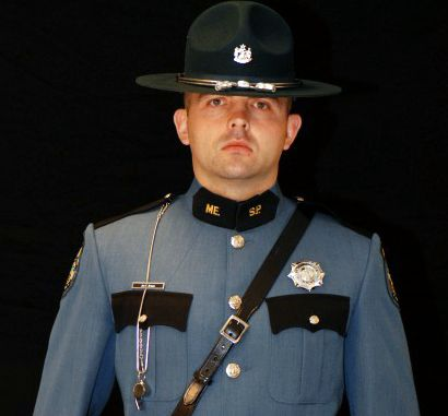 Trooper Jon Brown of the Maine State Police