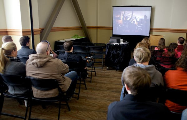 The MaineFocus Film Festival screened films by Maine teens who brought their voices into the conversation about drug addiction Saturday at the Cross Insurance Center.