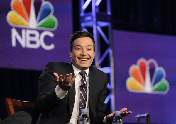 Jimmy Fallon, host of &quotThe Tonight Show Starring Jimmy Fallon&quot