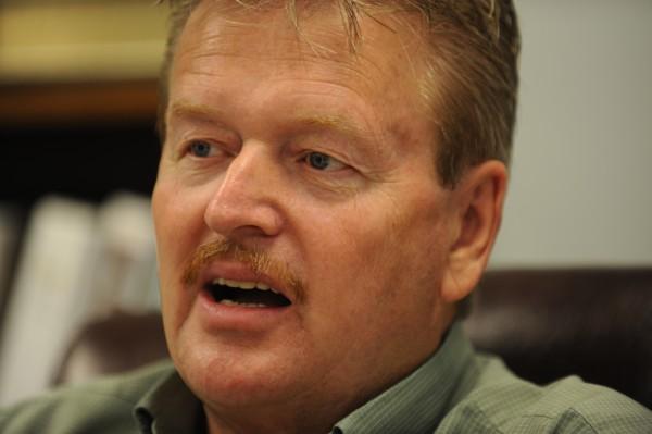 Newport Town manager Jim Ricker