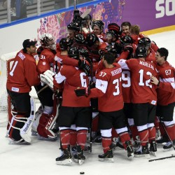 Canada shuts out US, earns gold-medal men's hockey final against Sweden