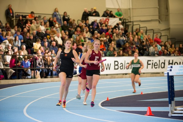 The 43rd PVC high school indoor track championship was held in Orono Saturday in the New Balance Field House.