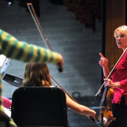 Dead River, youth orchestras and food bank combine to make a recipe for good