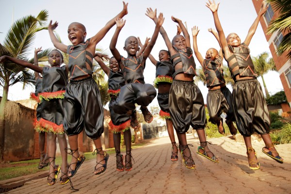 The African Children's Choir comes to Portland March 2.