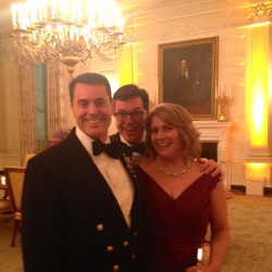 Hermon guardsman, wife go to dinner with the Obamas