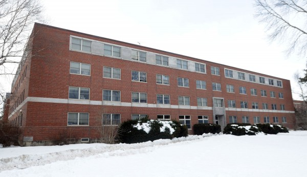 Hart Hall on the University of Maine campus as seen on Wednesday, Feb. 26, 2014.