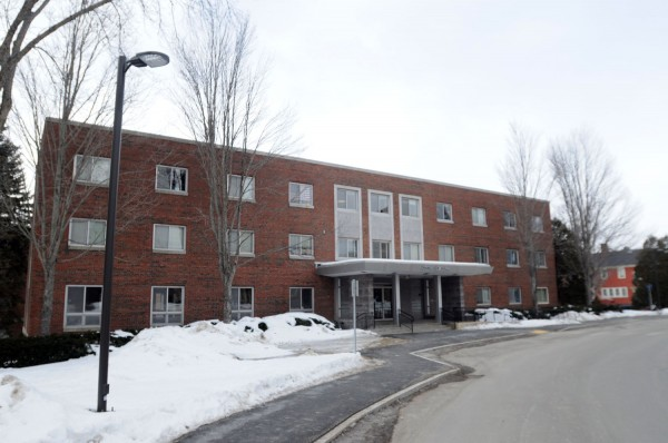 Hancock Hall on the University of Maine campus as seen on Wednesday, Feb. 26, 2014.