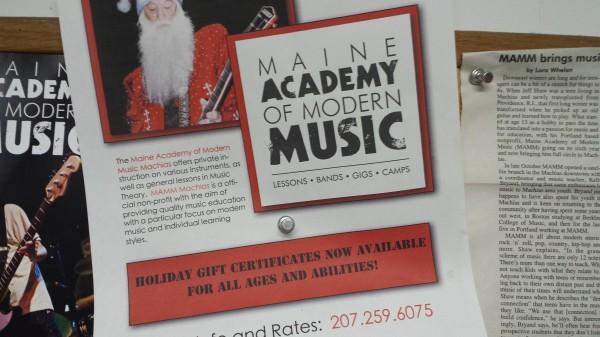 Portland-based Maine Academy of Modern Music opened a studio in Machias in October.