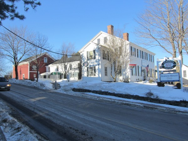 A February 2013 file photo of Jameson Tavern, the downtown Freeport restaurant that first opened in 1801. The building is up for auction March 6.