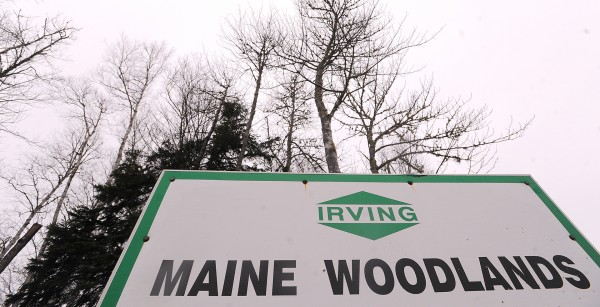 J.D. Irving Ltd. is one of the largest private landowners in Maine.