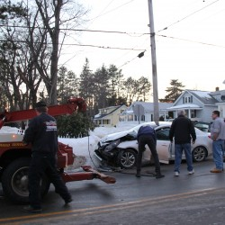 No one seriously hurt in Bangor accident