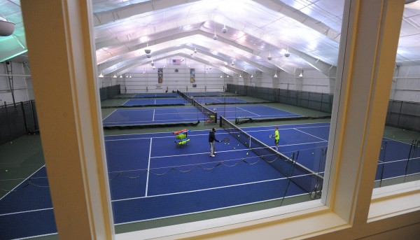 The Midcoast Recreation Center in Rockport has a seasonal ice rink as well as indoor tennis and fitness facilities.