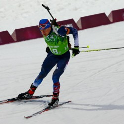 Stockholm biathlete places 50th in Olympic 20K individual race