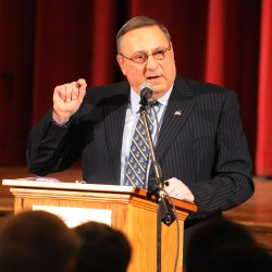 LePage's Medicaid expansion rhetoric is straight out of '1984'