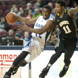 UMBC cashes in on turnovers to edge UMaine men's basketball team
