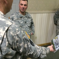 LePage joins farewell ceremony for Bangor Army Guard unit