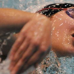 Greely captures its fourth straight Class B swim crown; MDI finishes second