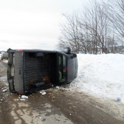 Driver, trooper injured as black ice causes accidents in southern Aroostook