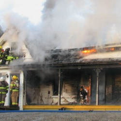 Fire destroys Winter Harbor building