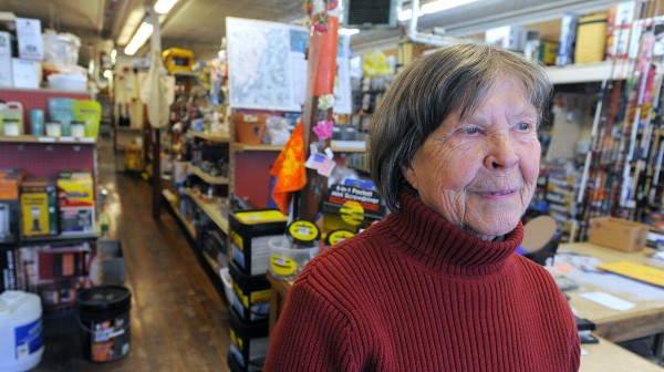 Eunice Palmer is the owner of the Home Supply Center hardware store on Main Street in Downtown Belfast. Palmer said that she likes the way the town has changed, and believes that it is better then it was 40 or so years ago when she started the business.