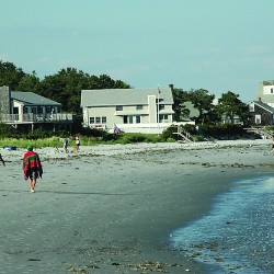 Maine supreme court considers public access to private beaches in Kennebunkport case