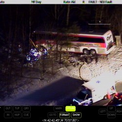 Driver involved in Cyr Bus crash in Massachusetts undergoing treatment for burns
