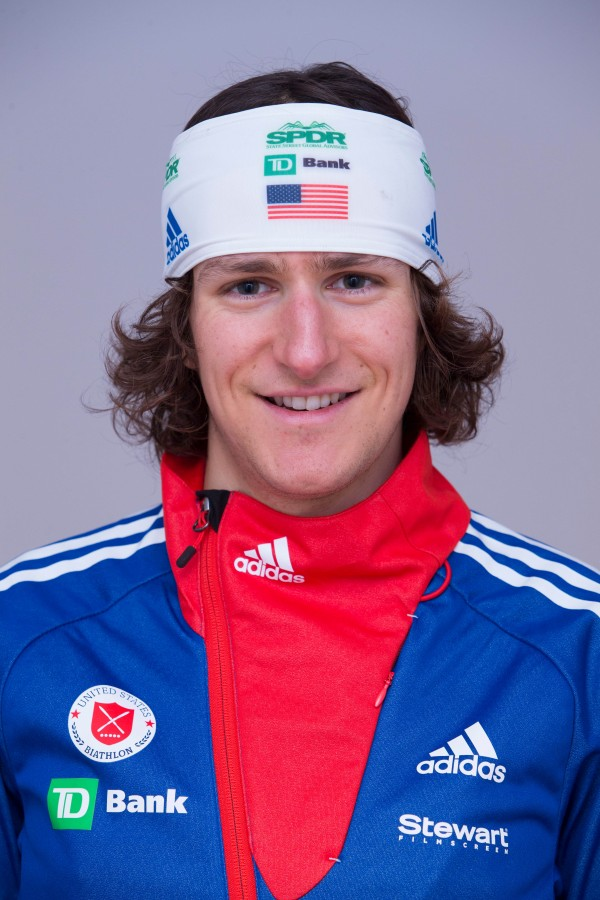 Russell Currier is a member of the US Olympic biathlon team.