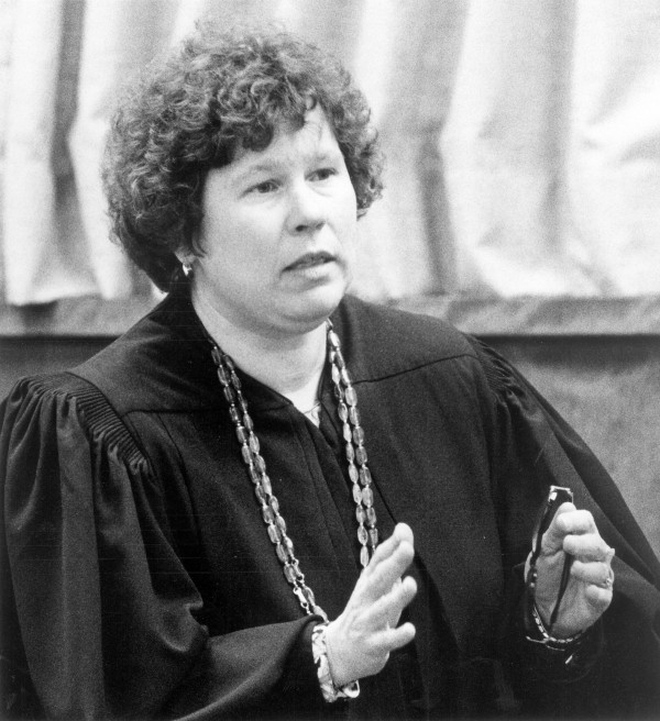 Maine Superior Court Justice Margaret Kravchuk in February 1994.