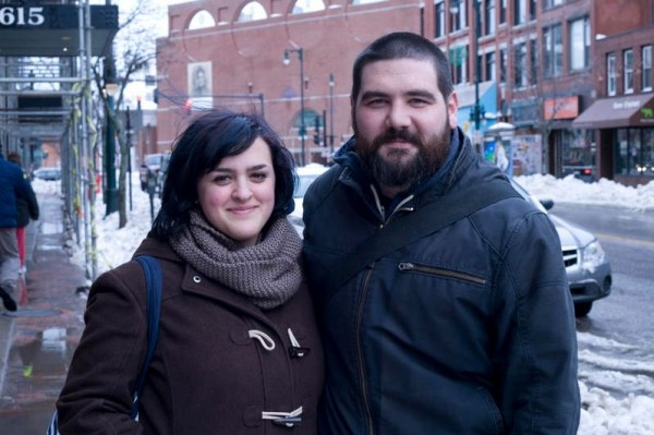 Sarah and Adam deGrandis, of Portland, are working on &quotNotorious Inc.,&quot a video game for smartphone and tablet devices.