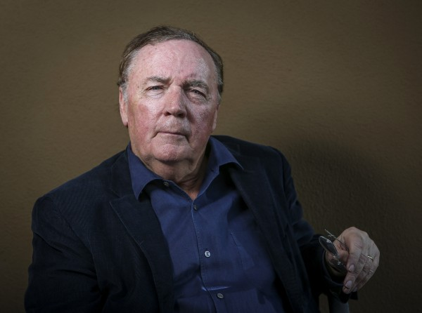 In this October 2012 file photo, writer James Patterson poses to promote the new movie &quotAlex Cross&quot based on his novel &quotCross&quot at the Four Seasons in Los Angeles, Calif.