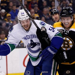 Bruins rout Canucks, even Stanley Cup finals